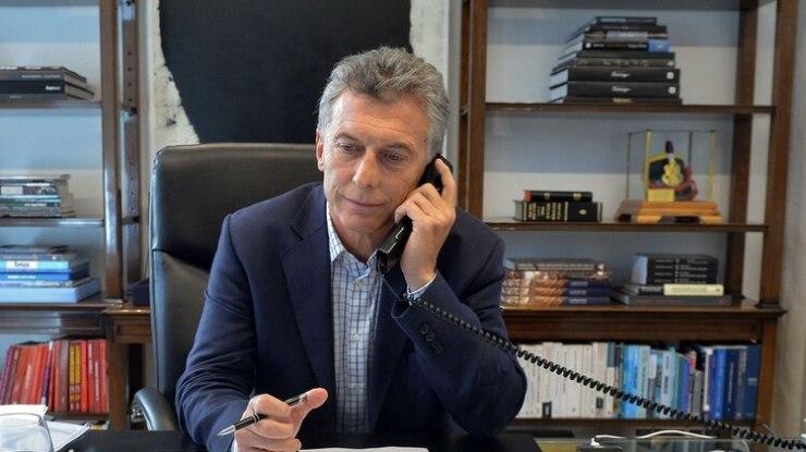 Macri y Alberto Fernández hablaron cerca de 15 minutos