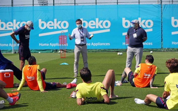Los jugadores enviaron un burofax al club para expresar su rechazo a la mesa de negociación (MIGUEL RUIZ/FCB)