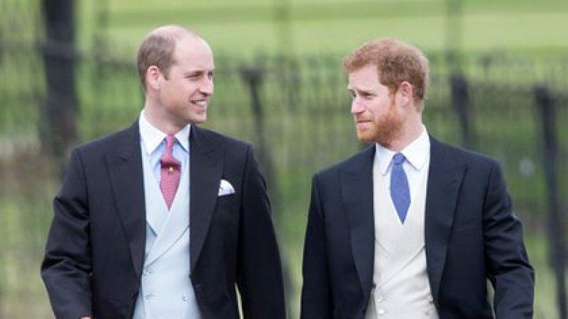 William y Harry siempre mantuvieron un vínculo cercano. Sin embargo, la tensión entre ambos ya es indisimulable (Shutterstock)
