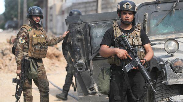 Tropas del Servicio Antiterrorista en Mosul (AFP)