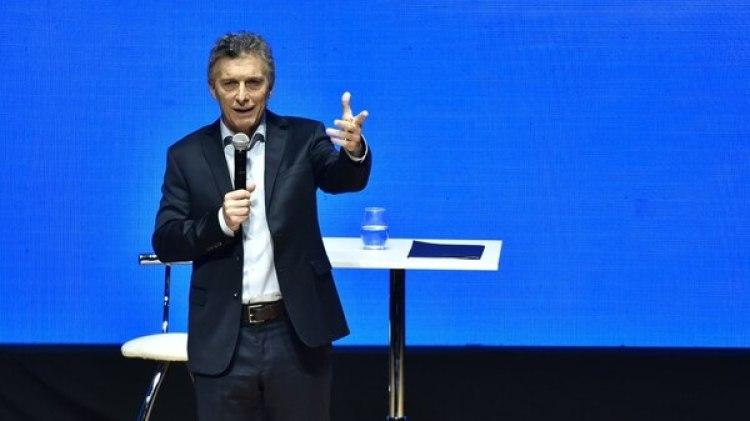 Mauricio Macri en el CCK (Adrián Escandar)