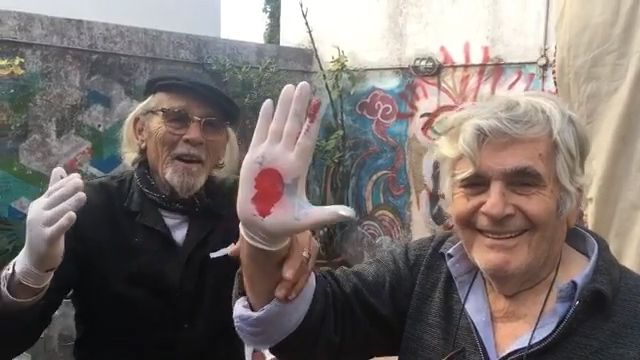 Pedro Roth y Roberto Plate cuarentena