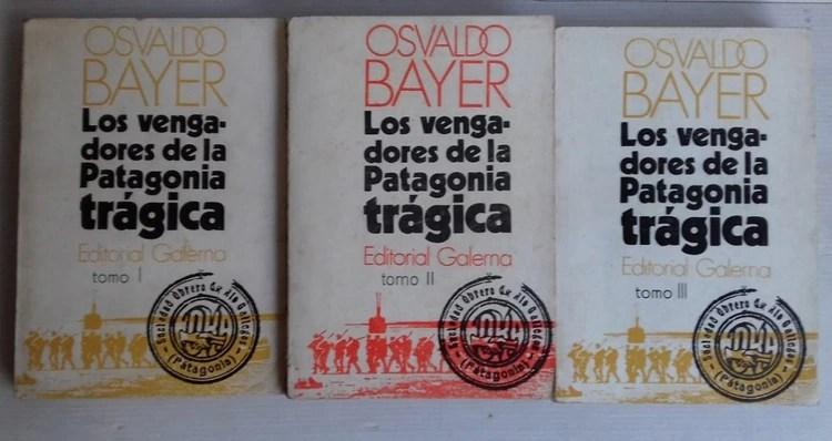 """Edición original de """"Los vengadores de la Patagonia trágica"""", publicado en tres tomos entre 1972 y 1974"""