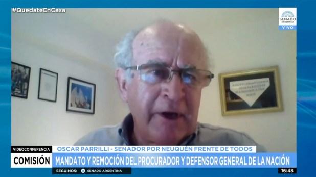 PLENARIO DE DERECHOS Y DE JUSTICIA Parrilli