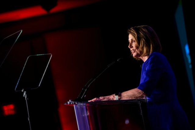 Nancy Pelosi. (REUTERS/Al Drago)