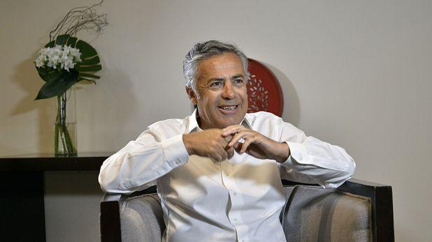 Alfredo Cornejo había adelantado la postura del radicalismo en la mañana del domingo (Gustavo Gavotti)