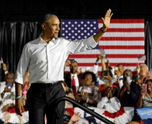 Barack Obama durante un acto en Miami. (REUTERS/Joe Skipper)