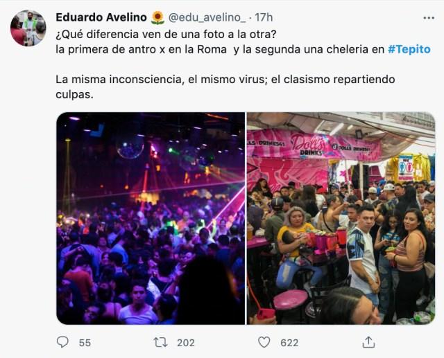 Fiestas en Polanco y Tepito