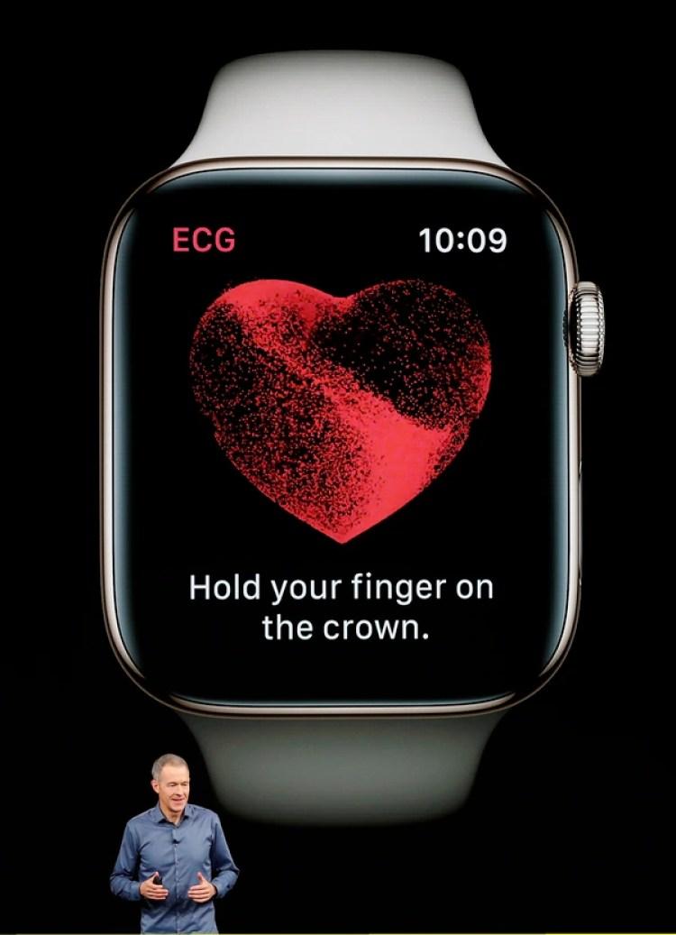 Apple Watch Series 4 realiza electrocardiogramas (Reuters)