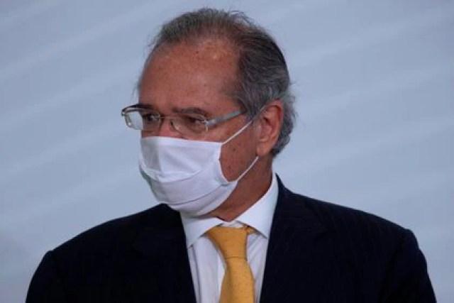 El ministro brasileño de Economia, Paulo Guedes. EFE/ Joédson Alves/Archivo