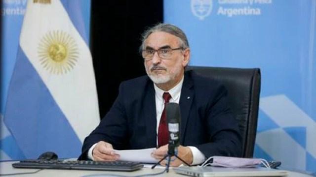Luis Basterra, ministro de Agricultura, Ganadería y Pesca de la Nación