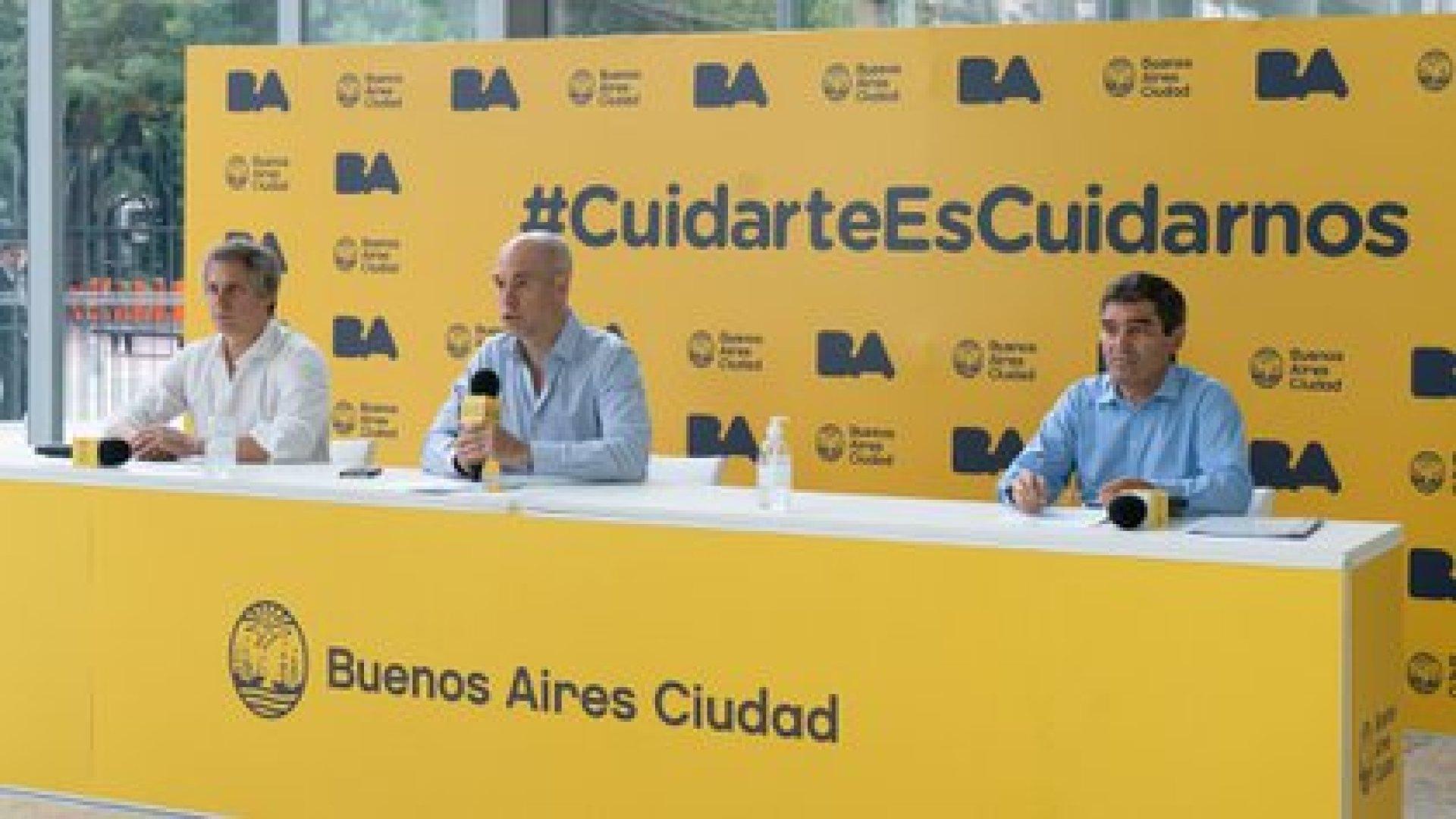 El gobierno de la Ciudad de Buenos Aires anunció que buscarán la adquirir vacunas en forma autónoma