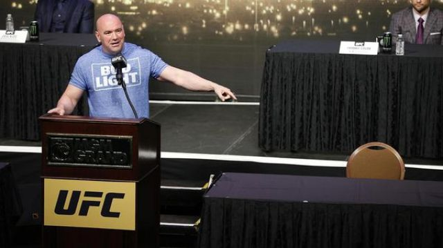 Dana White, presidente de la UFC, también confirmó el acuerdo en una entrevista con TNT (AP)