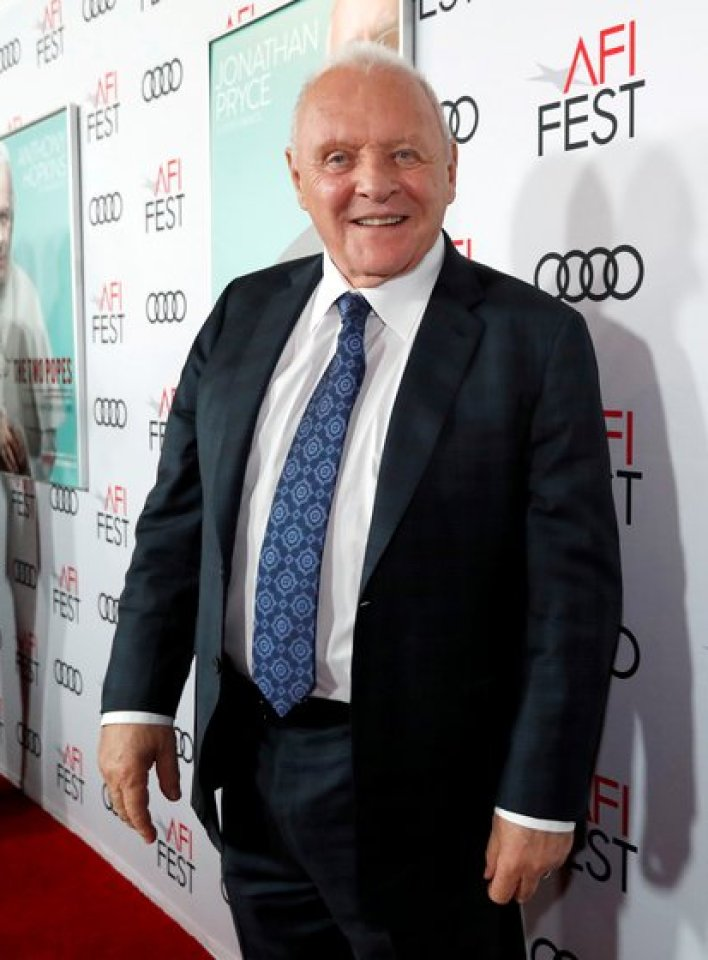 Anthony Hopkins (REUTERS/Mario Anzuoni/Archivo)