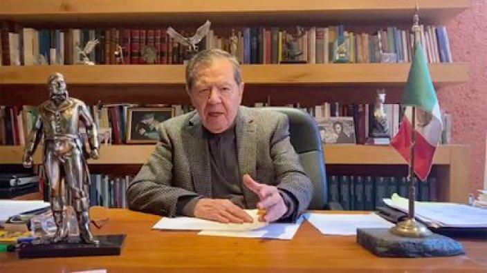 Porfirio Muñoz Ledo pide frenar el gobierno de una sola persona (Foto: Captura de pantalla)