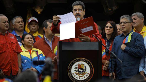 Pese al rechazo nacional e internacional, Nicolás Maduro sigue adelante con la Asamblea Nacional Constituyente (Reuters)
