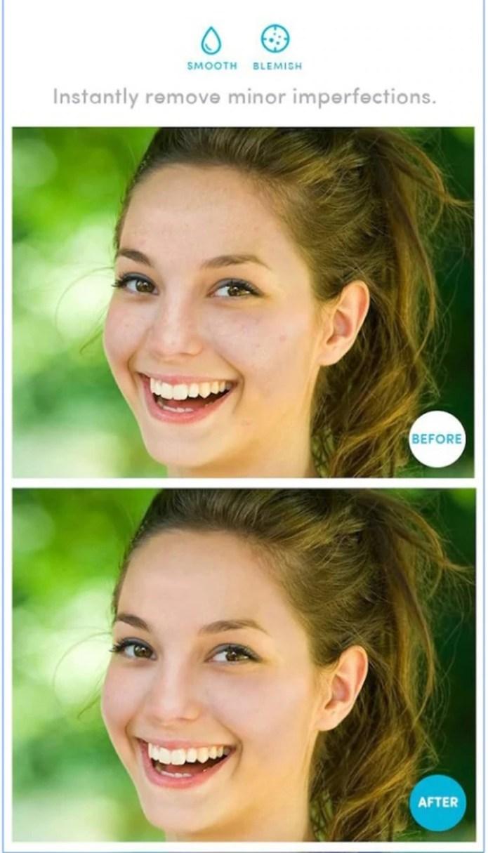 Con AirBrush se puede corregir imperfecciones en la piel (AirBrush)
