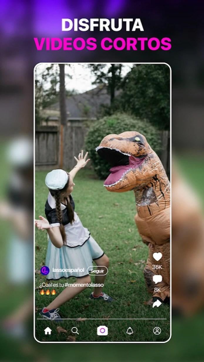 Lasso está disponible para iOS and Android.