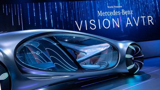 Mercedes Benz presentó un concept car inspirado en la película Ávatar.