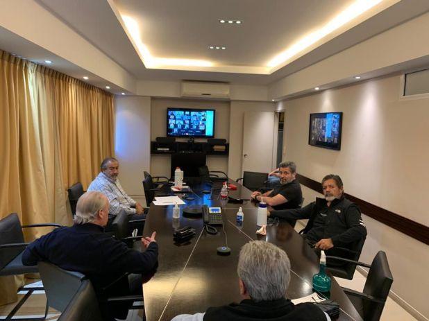 La CGT se reunió mediante una videoconferencia