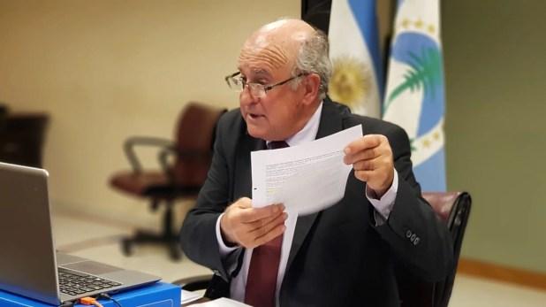 Oscar Parrilli - Reforma judicial - 27A - Congreso de la Nación - Senadores