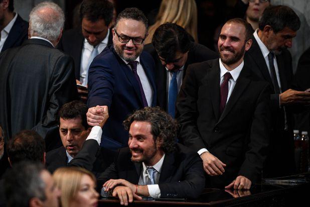 Ceremonia de asuncion y traspaso de mando presidencial, en el Congreso de la Nacion, el 10 de Diciembre de 2019