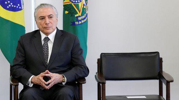 La Justicia electoral de Brasil tiene previsto juzgar, entre este martes y el jueves, la validez de los comicios de 2014, y su veredicto puede acarrear la anulación del mandato del presidente Michel Temer (Reuters)
