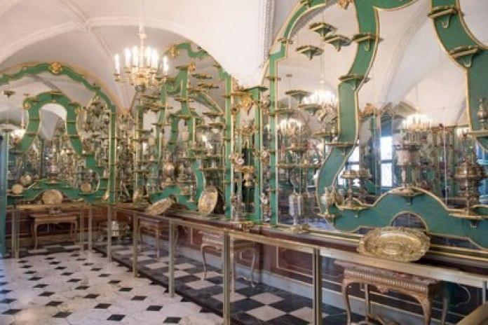 Museo Bóveda Verde en Dresde Alemania  (Photo by Sebastian Kahnert (dpa/AFP)