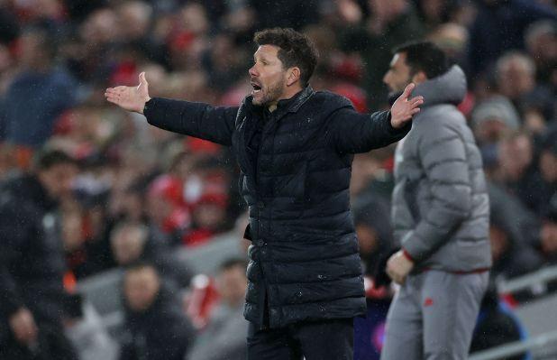 Diego Simeone, entrenador del Atlético de Madrid (Reuters/Carl Recine)