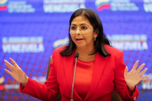 Delcy Rodriguez vicepresidenta de Nicolás Maduro