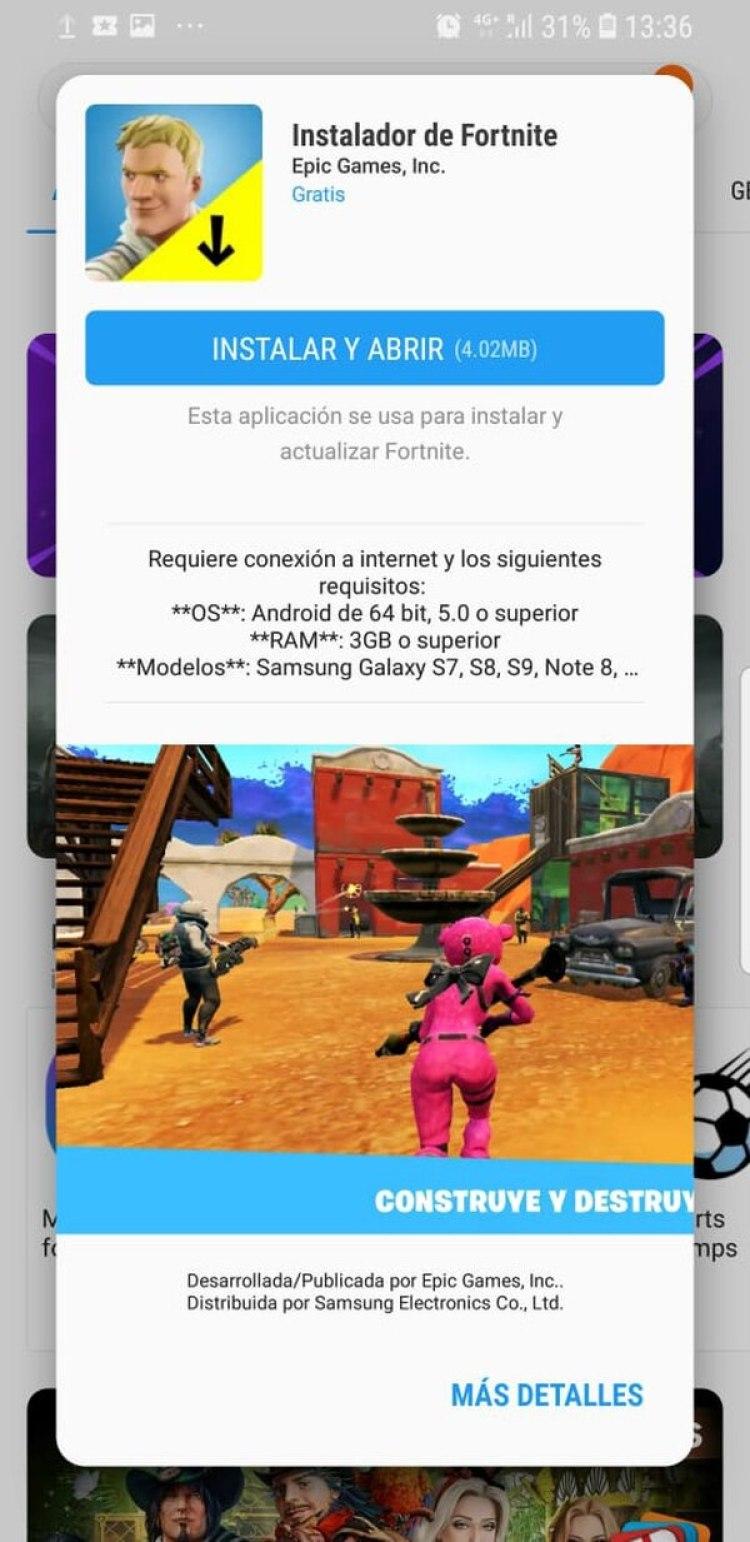 Fortnite ya está disponible para iOS desde abril y ahora empieza el desembarco en Android