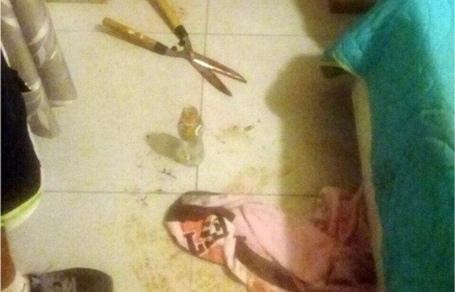 Imagen de la habitación donde se produjo la agresión