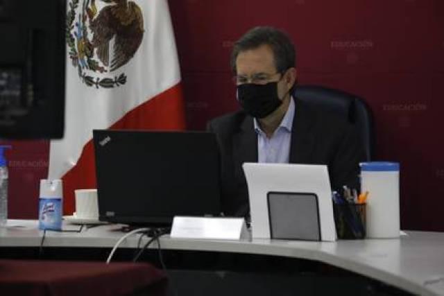 Esteban Moctezuma Barragán, secretario de Educación (Foto: SEP)