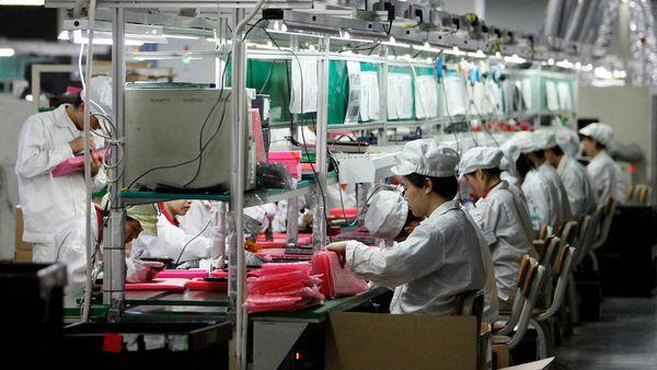 La fábrica de Foxconn en Longhua, en los suburbios de Shenzhen, es la principal ensambladora del iPhone