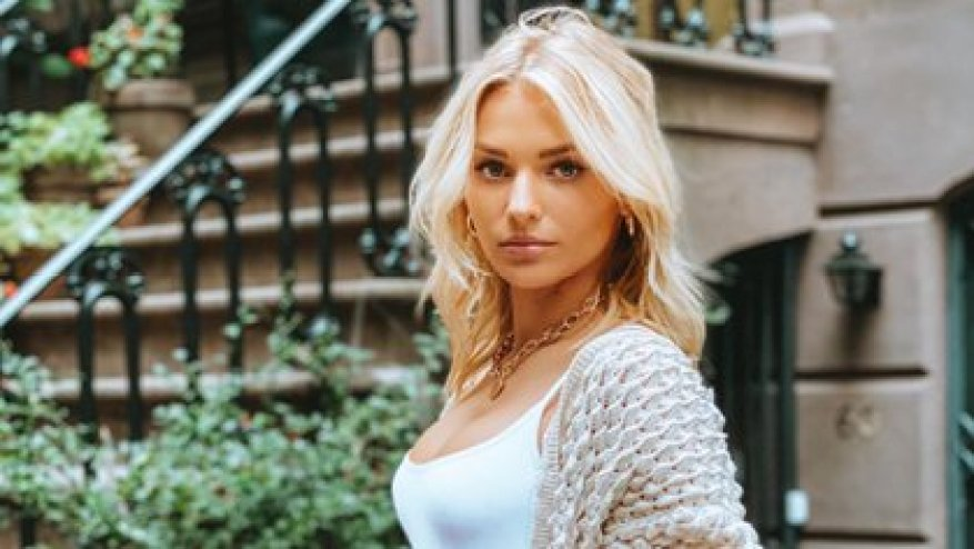 Irina Baeva was accused by fans of causing the break between Gabriel Soto and Bazán (Photo: Instagram @irinabaeva)