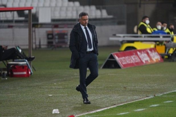 José Gomes estalló contra el VAR (Europa Press)