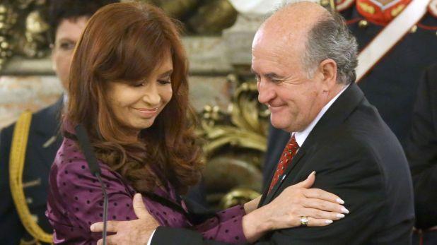 Cristina Kirchner y Oscar Parrilli (NA)