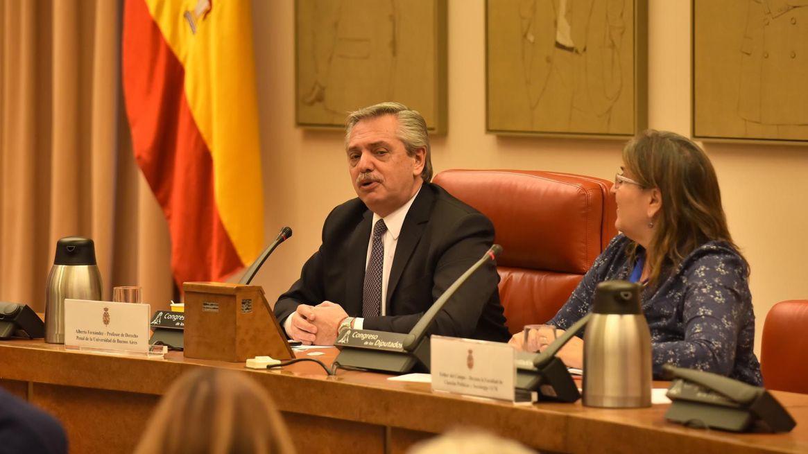 Fernández en España