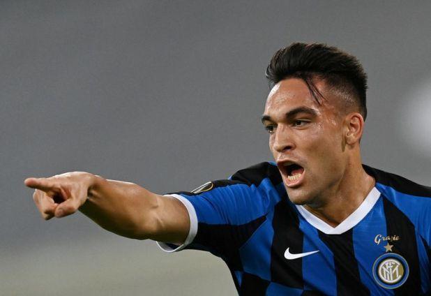 Lautaro Martínez se destaca en el Inter y está en el radar del Barcelona (Sascha Steinbach/Pool via REUTERS)