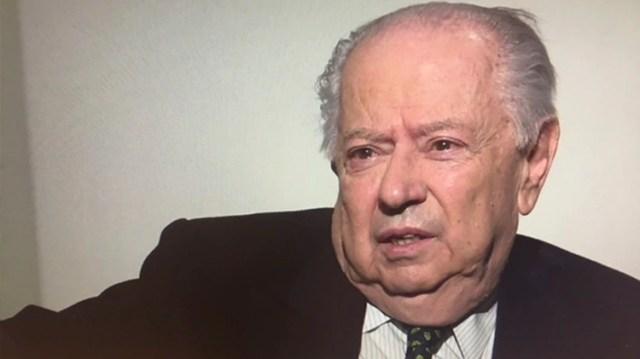 Carlos Corach fue ministro del Interior durante el gobierno de Carlos Menem