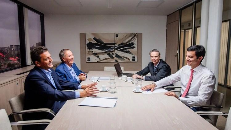 Massa, Schiaretti, Pichetto y Urtubey