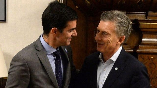 El gobernador de Salta se reunió con Mauricio Macri en la tarde del jueves