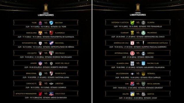 Así se desarrollará la cuarta jornada de la fase de grupos de la Copa Libertadores