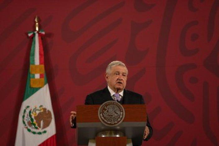 López Obrador asegura, sin probar, que las evidencias de la DEA son falsas (Foto: Presidencia)
