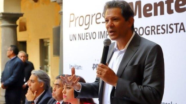 Fernando Haddad, ex precandidato presidencial del PT tras la detención de Ignacio Lula Da Silva