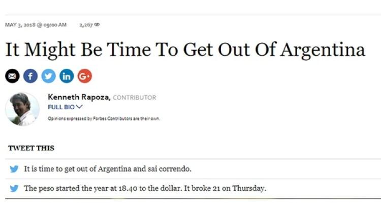 El artículo de Forbes