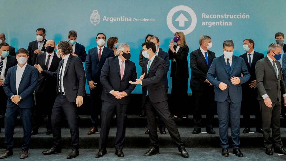 firma pacto fiscal alberto fernandez y gobernadores