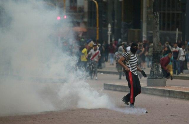 EEUU aseguró que ayudará a evitar la violencia en las protestas que están sucediendo en América Latina (REUTERS/Luisa Gonzalez)