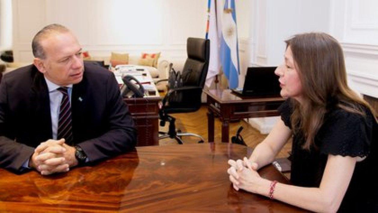 Cara a cara: Sergio Berni y Sabina Frederic