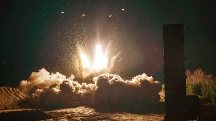 El lanzamiento del misil norcoreano Hwasong-15